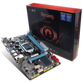Carte mère Runing - Socket LGA1155,INTEL H61, DDR3, 2 Dimms 16GB,CROSSFIRE/SLI, Micro ATX