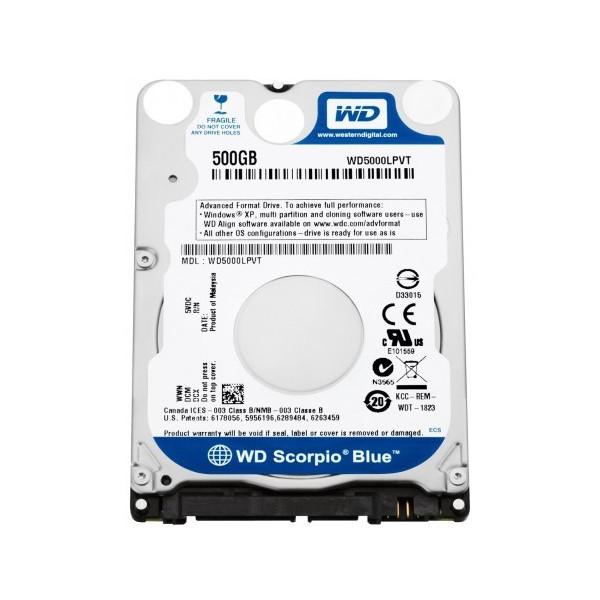 Disque dur 500Go sata III WD black 7200tpm 32Mo de cache