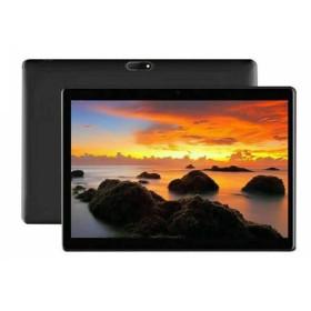 """Tablette WIFI / 4G-LTE Métal 10.1"""" Android 9.0 Écran HD 4Go mémoire 64Go stockage Double Caméra Dual SIM BT4.0 USB -Noir"""